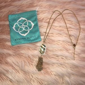 Rayna Gold long pendent Necklace!
